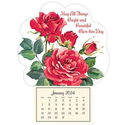 Mini Magnetic Calendar Roses in Bloom-352040