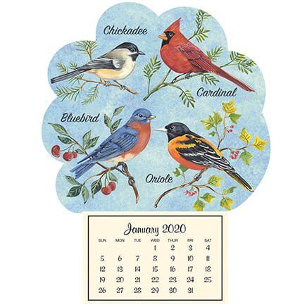 Mini Magnetic Calendar Songbirds-352042