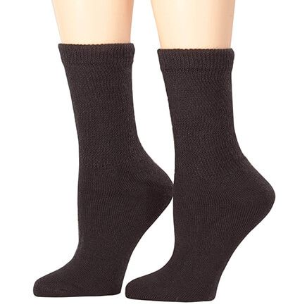 Silver Steps™ Extra Plush Diabetic Socks - 3 Pack-352253