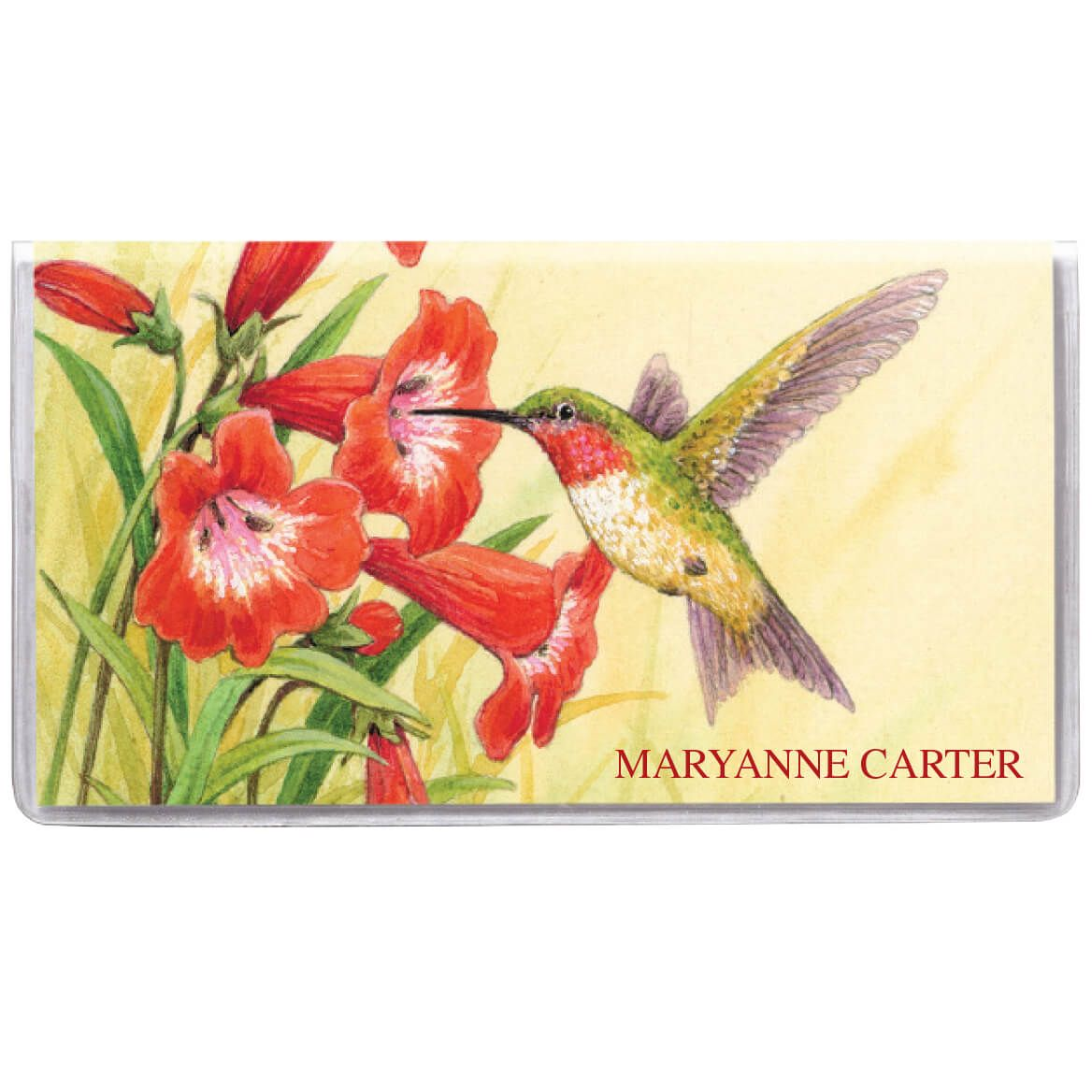 Personalized 2-Year Hummingbird Planner-352481