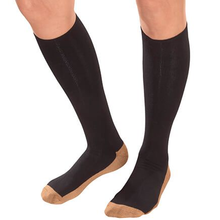 Copper Compression Socks, 1 Pair-352491