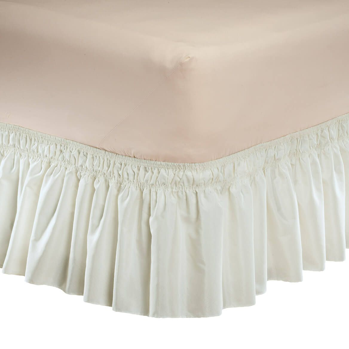 Solid Wrap Around Elastic Bed Skirt by OakRidge™-352789