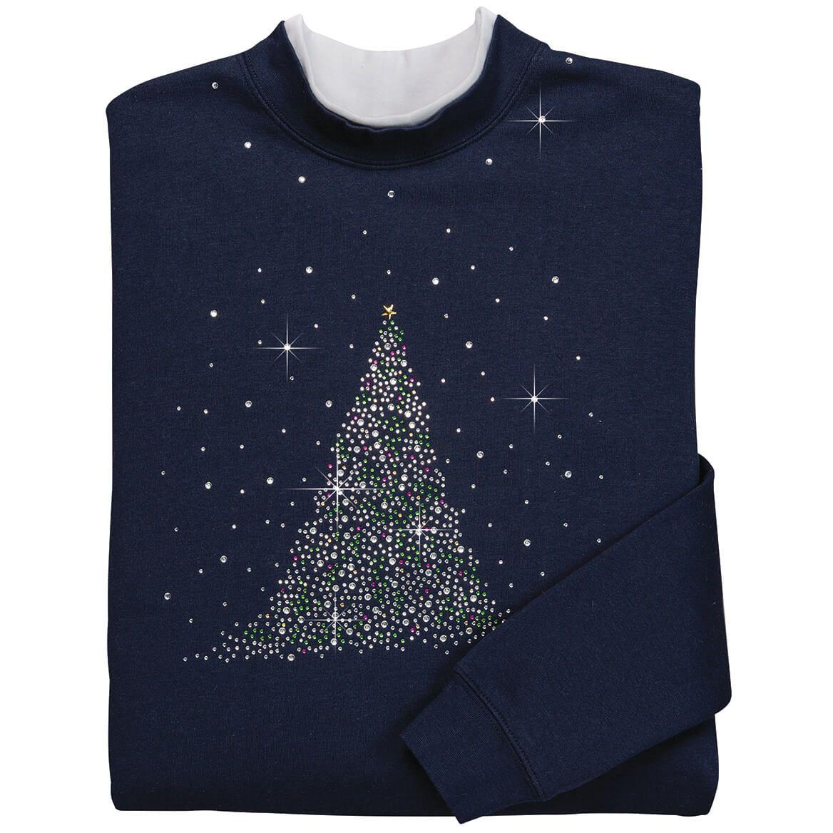 Sparkling Tree Sweatshirt-352917