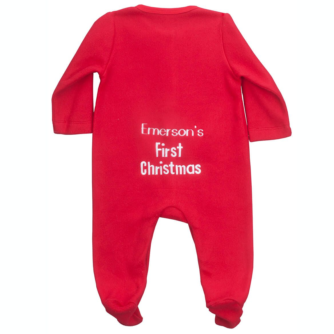 Personalized Baby's First Christmas Long Johns-353154