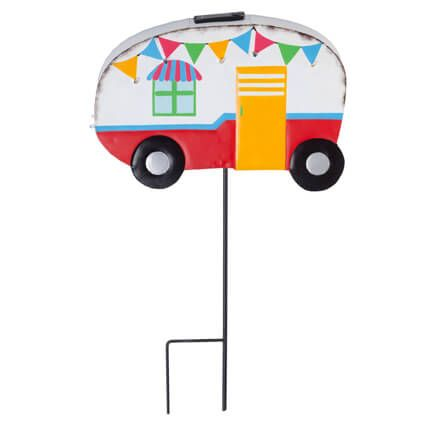 Vintage Camper Yard Stake by Fox River Creations™-353985