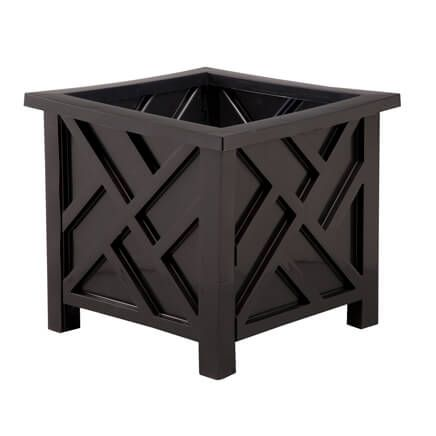 Black Chippendale Planter-354643