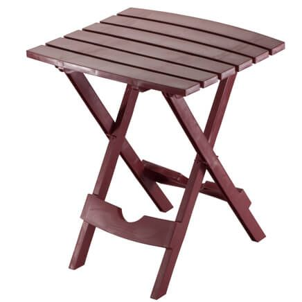 Quik Fold Table Earth Tones-354693