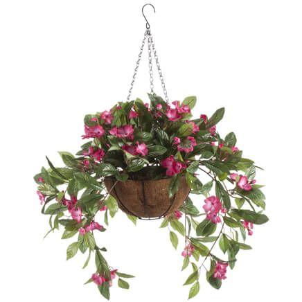 Fully Assembled Impatiens Hanging Basket by OakRidge™-355017