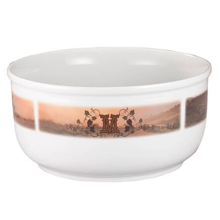 Personalized Tuscan Sunset Serving Bowl-355197