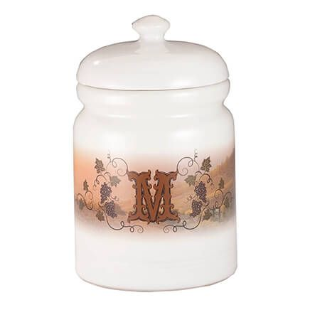 Personalized Tuscan Sunset Cookie Jar-355201