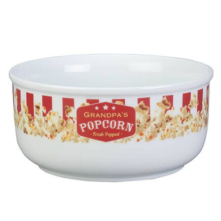 Personalized Popcorn Serving Bowl-355302
