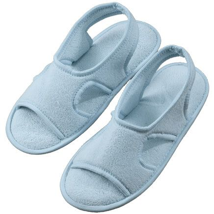 Terry Memory Foam Slippers-355384