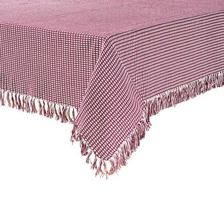 Homespun Woven Tablecloth-355815