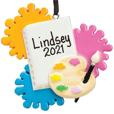 Personalized Artist Ornament-355956