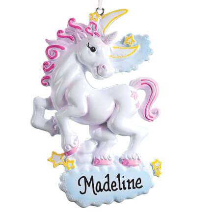 Personalized Unicorn Ornament-355968