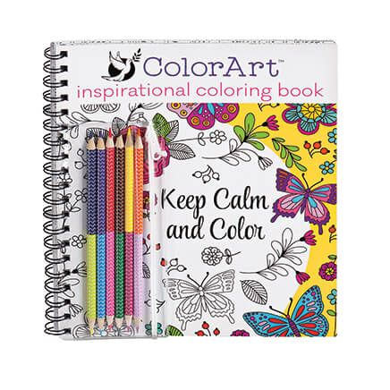 ColorArt ™ Inspirational Pictures Coloring Book-356098