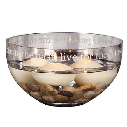 Personalized Glass Statement Bowl-356570
