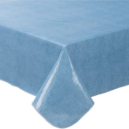 Illusion Weave Vinyl Drop Tablecover By Home-Style Kitchen™-356714