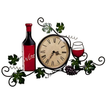 Wine Wall Clock-356768