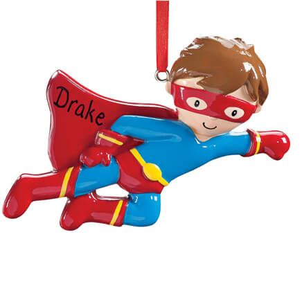 Personalized Superhero Ornament-356831