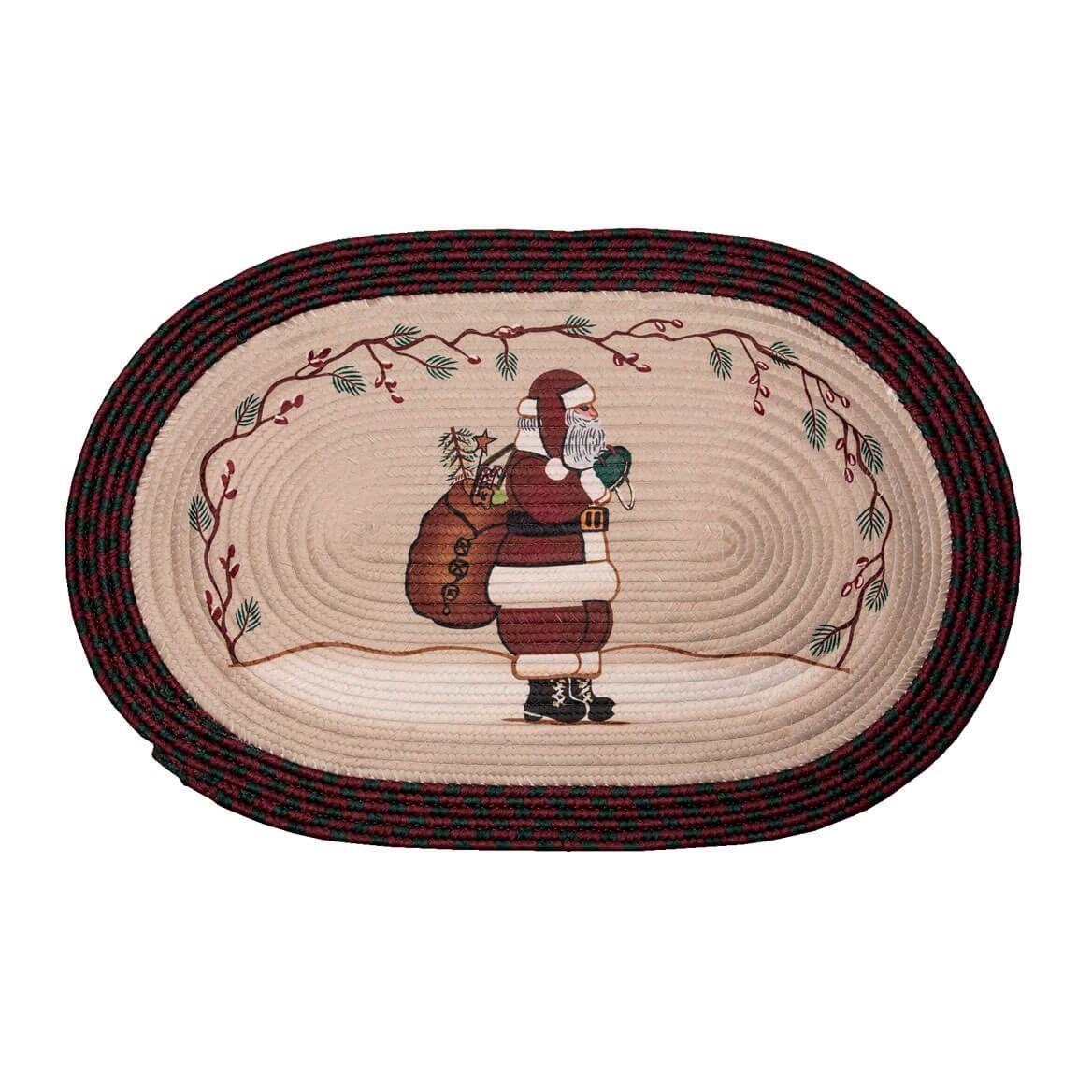 Santa Braided Rug-357002