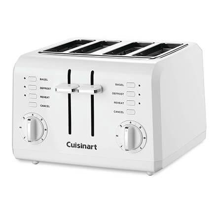 Cuisinart® 4-Slice Compact Plastic White Toaster-357386