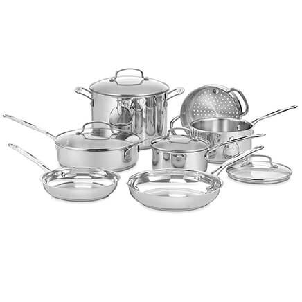 Cuisinart® Chef's Classic™ Cookware Set, 11 Pieces-357401