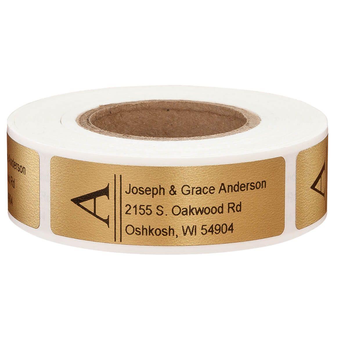 Bold Initial Address Labels - Set of 200-357466