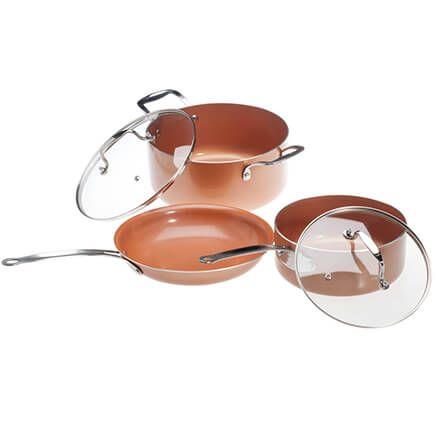 Ceramic Non-Stick Pans Set-357620