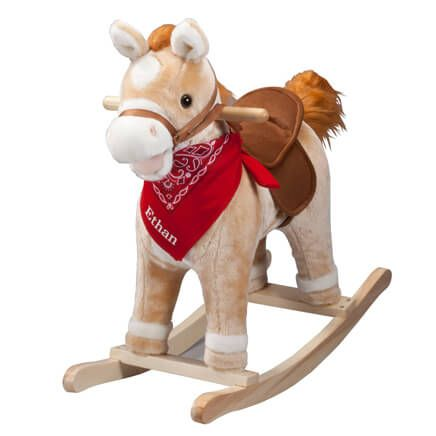 Personalized Animated Rocking Horse with Sound-357674