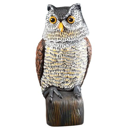 Scare Owl with Spring Neck by Scare-D-Pest™-357853