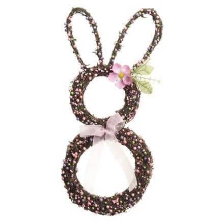 Bunny Grapevine Wreath-357983