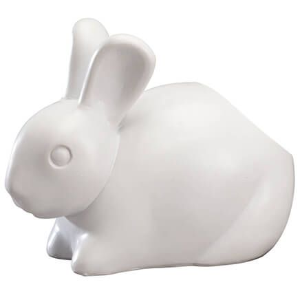 Bunny Cotton Ball Dispenser by OakRidge™-358128
