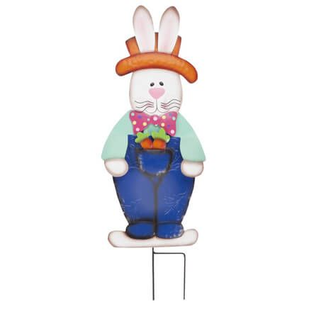 Metal Easter Bunny Boy Stake by Fox River™ Creations-358202