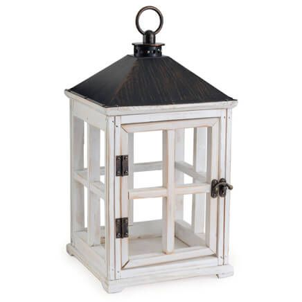 Wooden Candle Warmer Lantern-358231