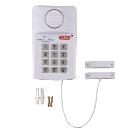 Magnetic Door Alarm with Programmable Keypad-358272