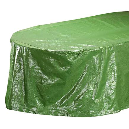 "Table Cover Oval, 108""L x 30""H x 84""W-358350"