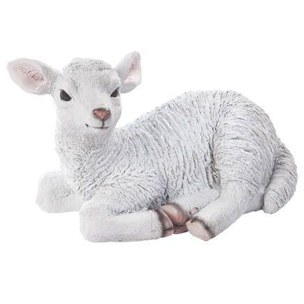 Resin Lamb Statue-358389
