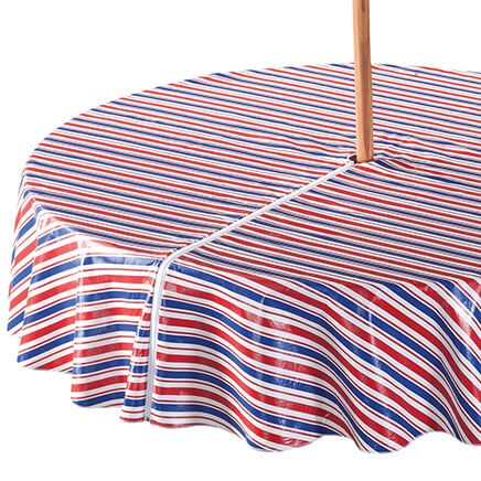 Patriotic Zippered Umbrella Table Cover-358460