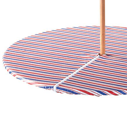 Patriotic Zippered Elasticized Umbrella Tablecover-358462