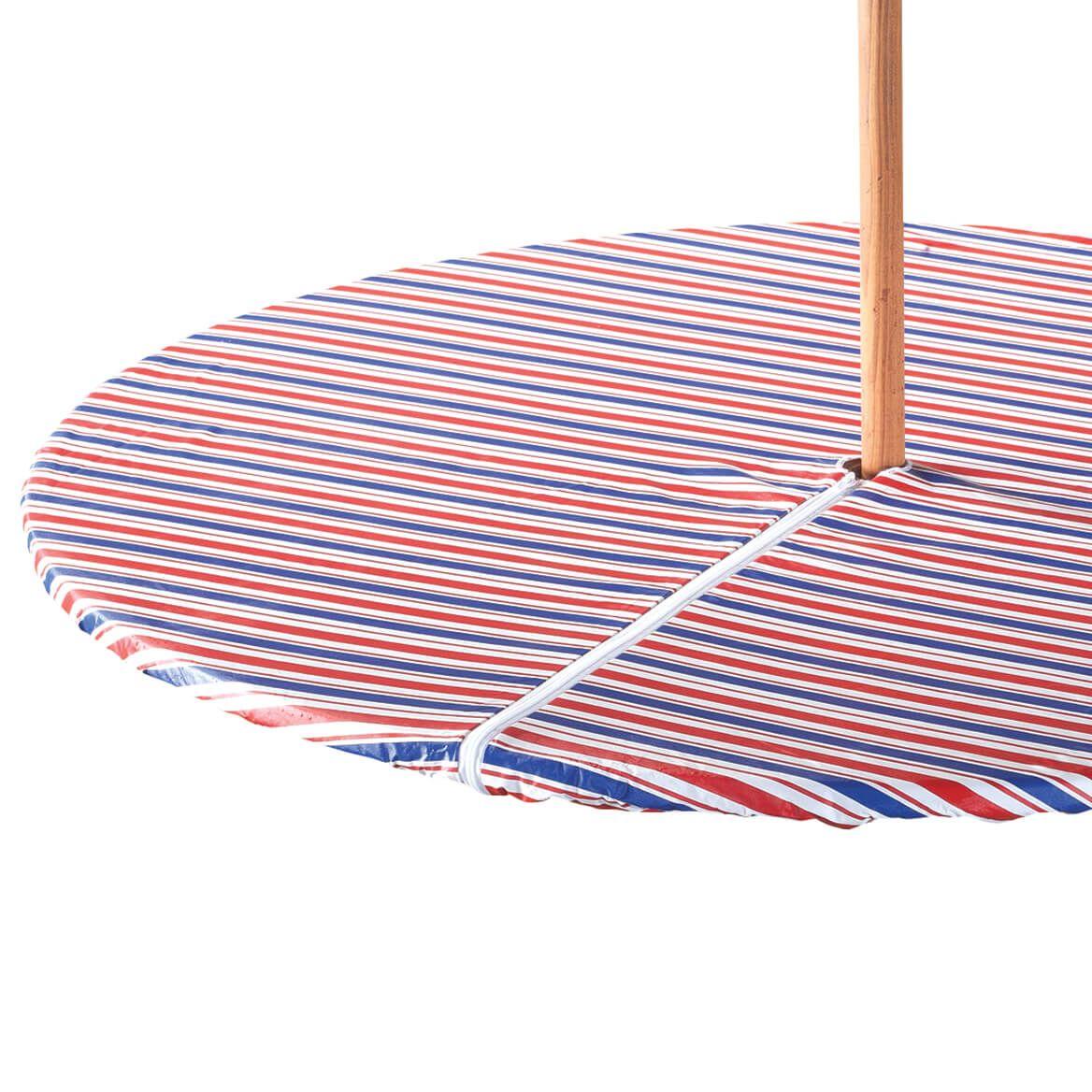 Patriotic Zippered Elasticized Umbrella Tablecover-358462