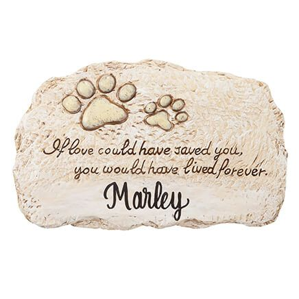 Personalized Forever Pet Memorial Stone-358510