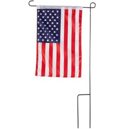 American Flag Garden Flag and Pole-359072