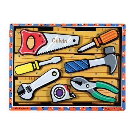 Melissa & Doug® Personalized Tools Chunky Puzzle-359132