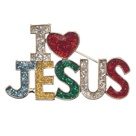 I Love Jesus Pin-359185