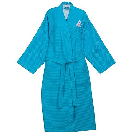 Personalized Waffle Robe - Long By Sawyer Creek Studio™​-359314