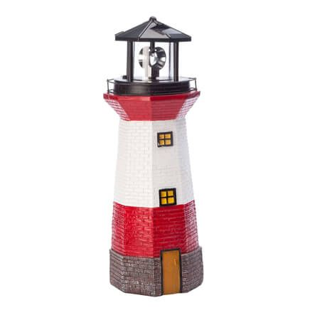 Red Solar Lighthouse by Fox River Creations™-359542