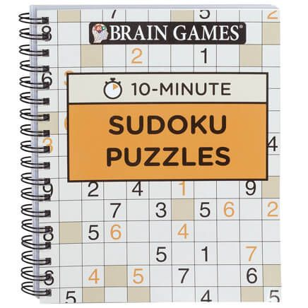 Brain Games® 10-Minute Sudoku Puzzles-360062