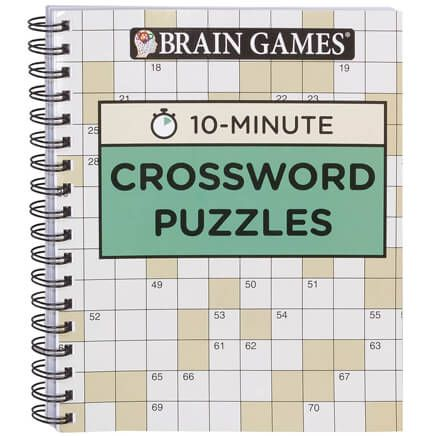 Brain Games® 10-Minute Crossword Puzzles-360063