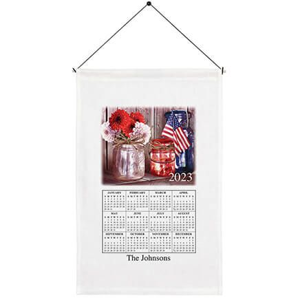 Personalized God Bless America Calendar Towel-360134